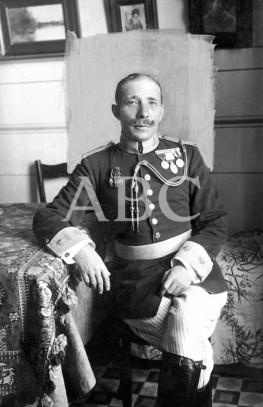 El General Emilio Barrera Luyando, Fill adoptiu de Montblanc. Font: Hemeroteca ABC.